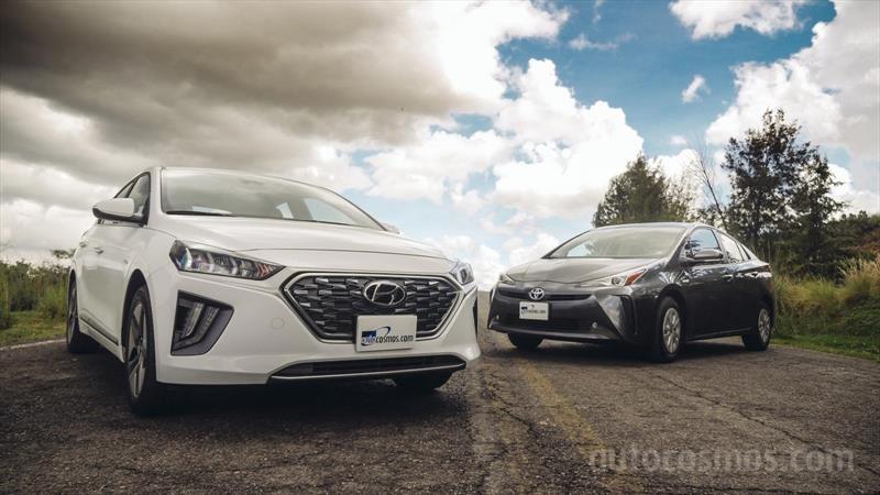 Frente a frente: Hyundai Ioniq vs Toyota Prius