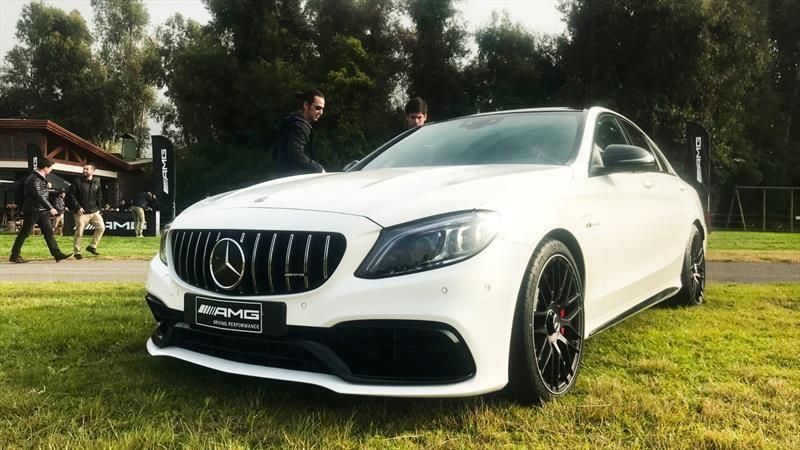 Mercedes-Benz C63 AMG - Lanzamiento en Chile