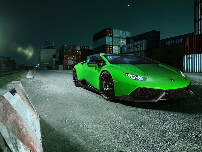 Lamborghini Huracán Spyder por Novitec Torado