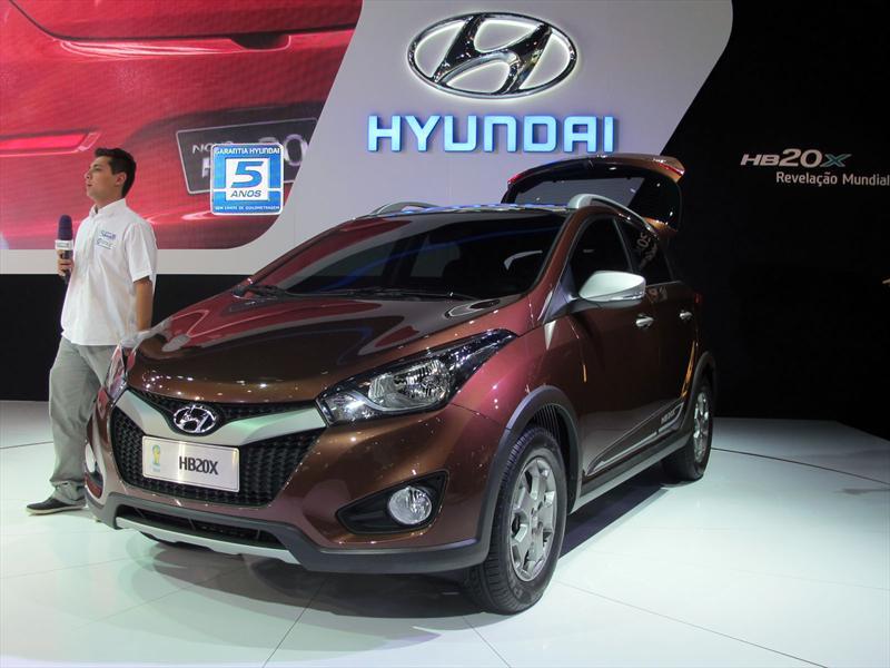 Hyundai HB20X en el Salón de San Pablo 2012