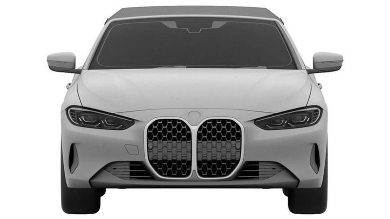 BMW Serie 4 Convertible en registro de patentes