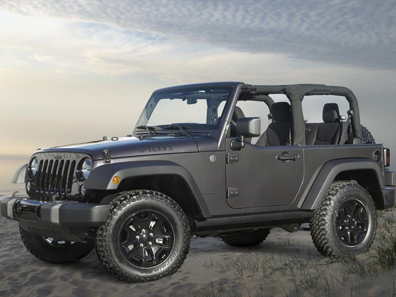 Jeep Wrangler Edición Willys Wheeler