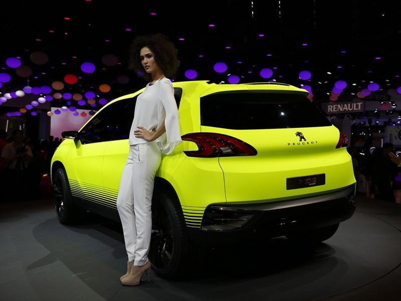 Peugeot 2008 Concept en París 2012