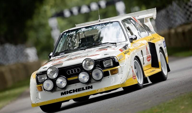 Audi quattro: 40 años, 40 cifras y 40 fotos