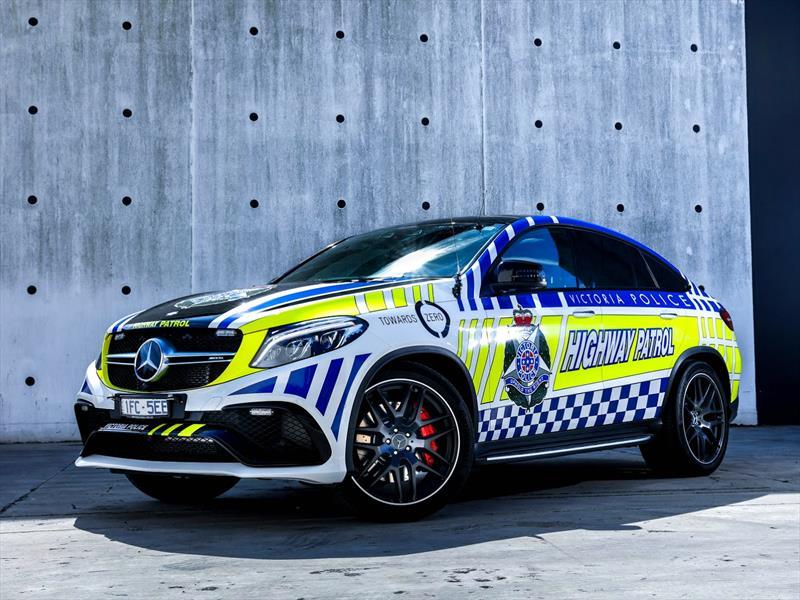 Mercedes-AMG GLE 63 S Coupé patrulla australiana