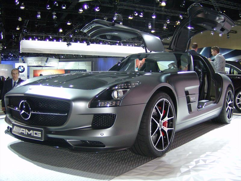 Mercedes-Benz SLS AMG Final Edition