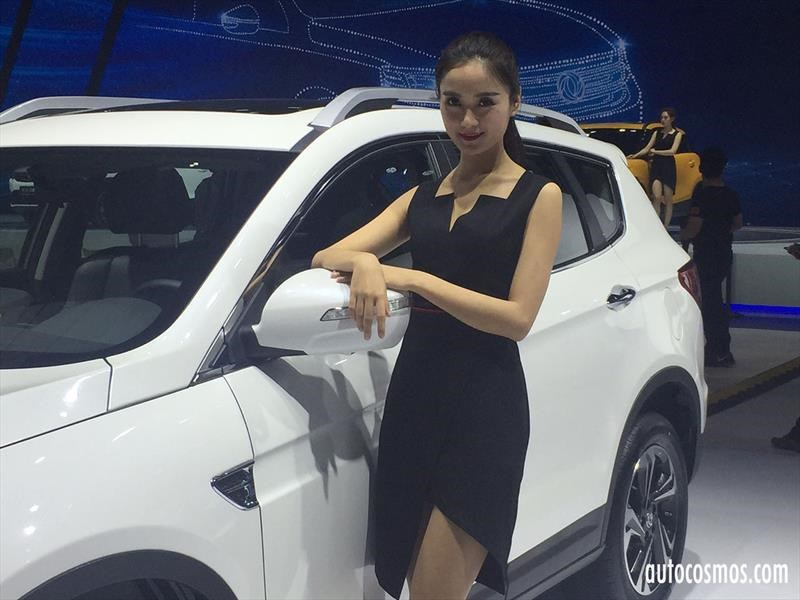 Anfitrionas Salón de Shanghai 2017