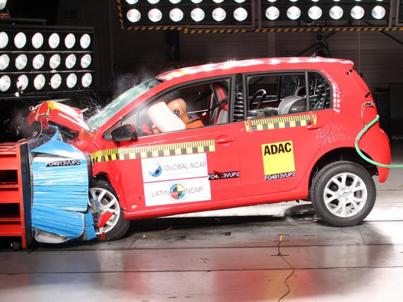 VW up! y Renault Clio Mio en Latin NCAP