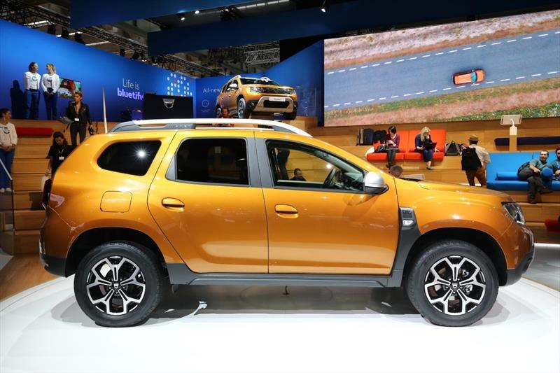 Dacia Duster 2018 - Salón de Frankfurt