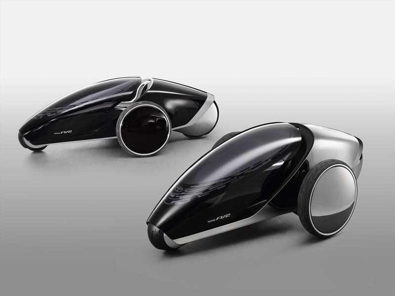 Toyota FV2, ¿el futuro de la movilidad personal?