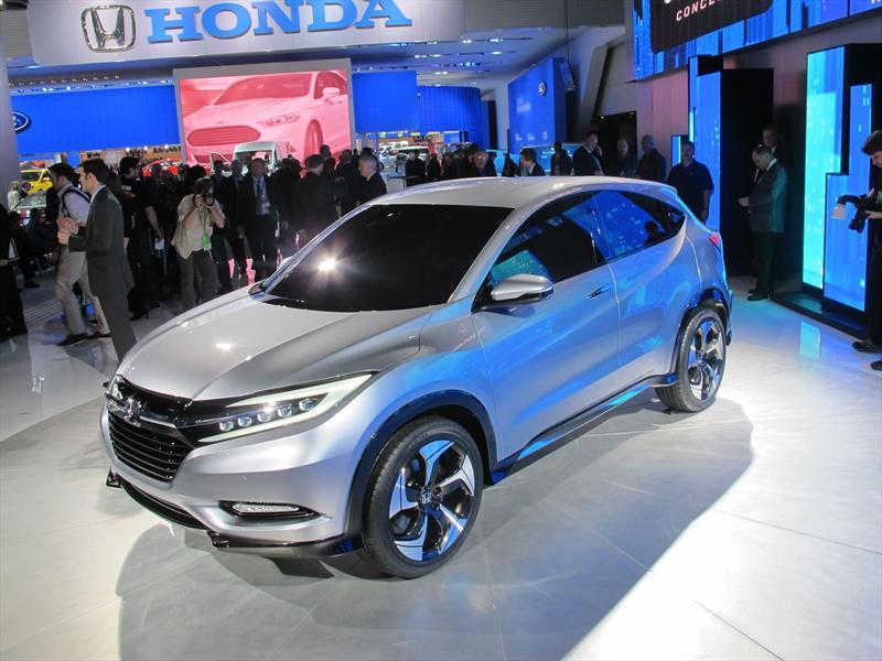Honda Urvan SUV Concept en vivo