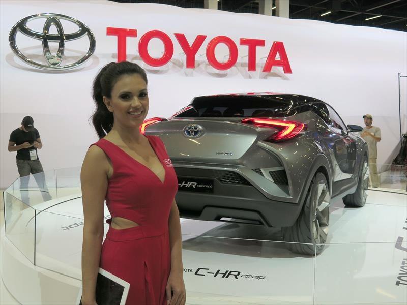 Toyota en el Salón de San Pablo 2016
