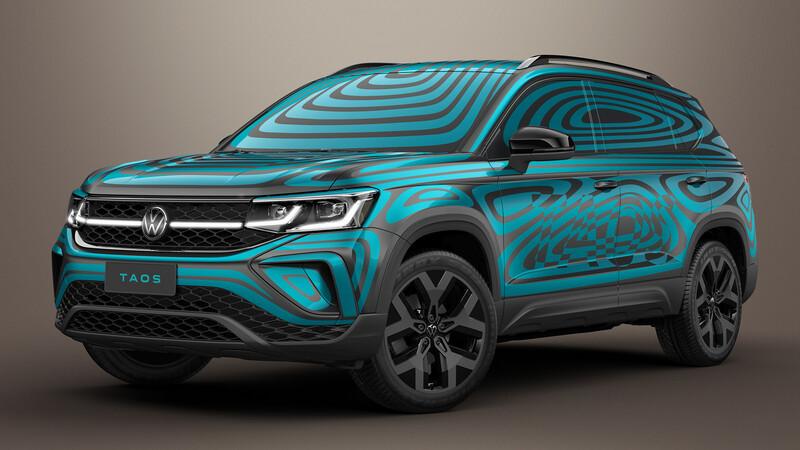 VW Taos: anticipo