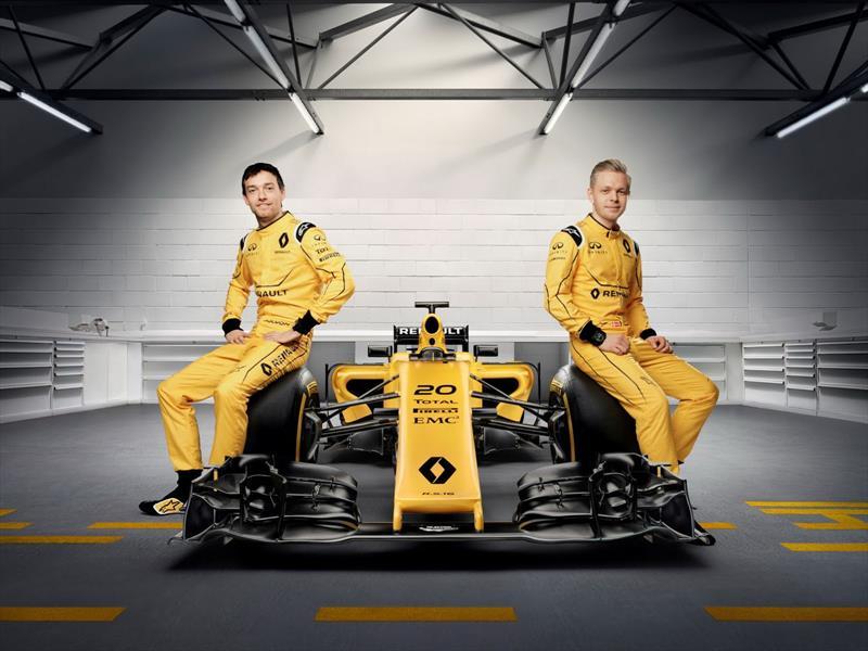 F1 oficial de Renault 2016
