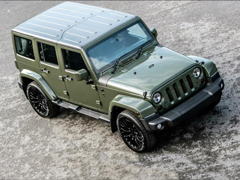 Jeep Wrangler Chelsea Truck por Kahn Design