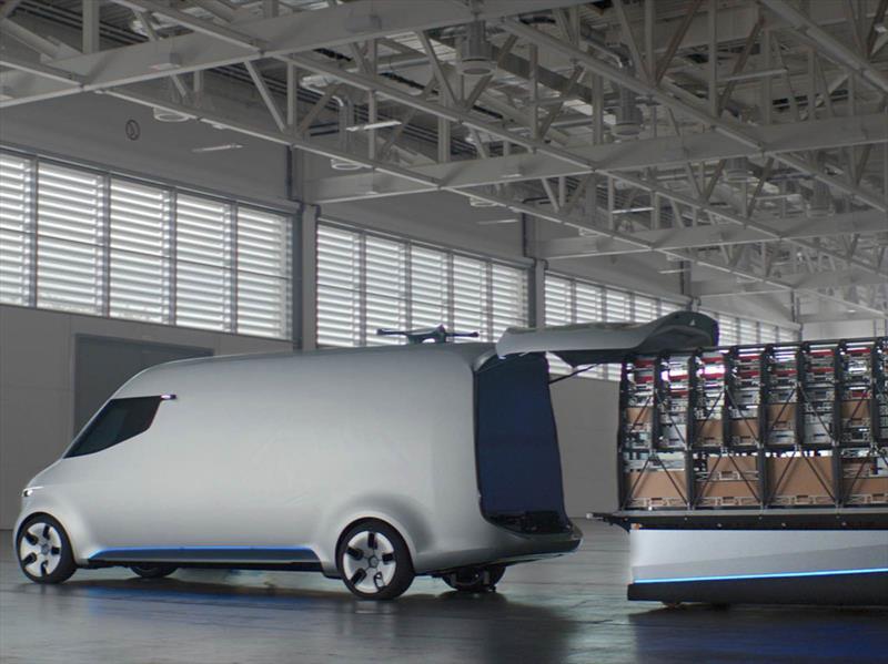 Mercedes-Benz Van Vision Concept 2017