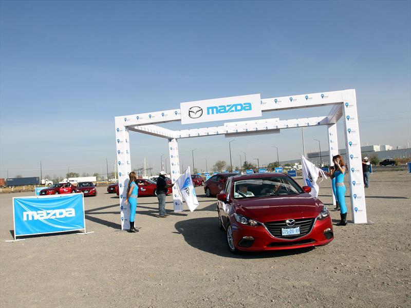 Mazda3 Tour Etapa 1: Salamanca - Monterrey