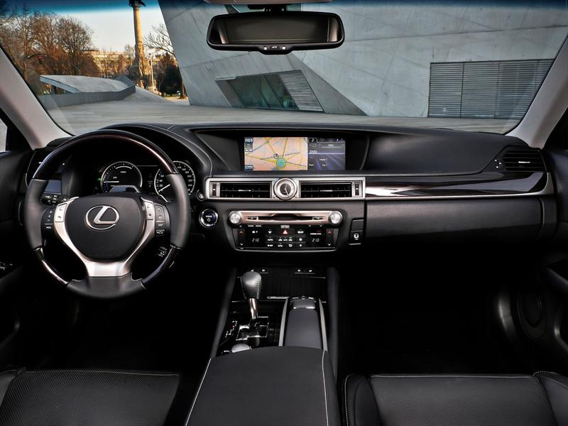 Mejores interiores 2013: Lexus GS450h