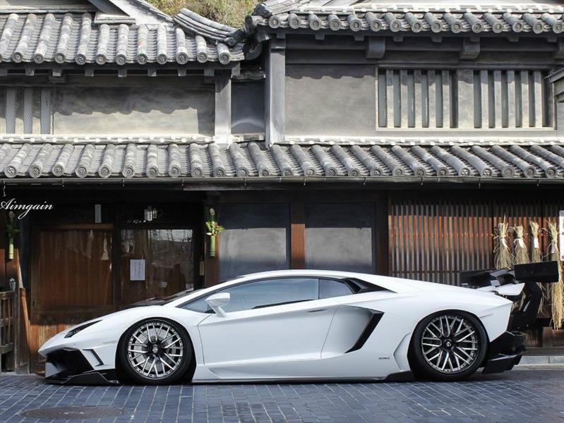 Lamborghini Aventador por Aimgain