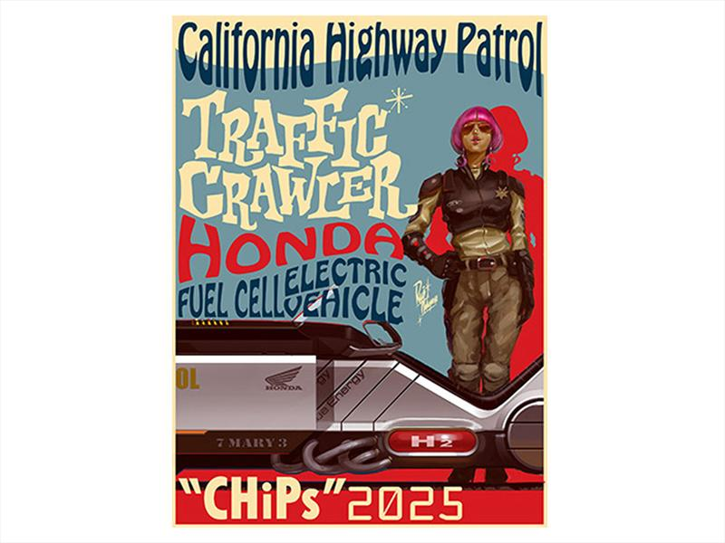 "Honda ""CHiPs"" 2025 Traffic Crawler"