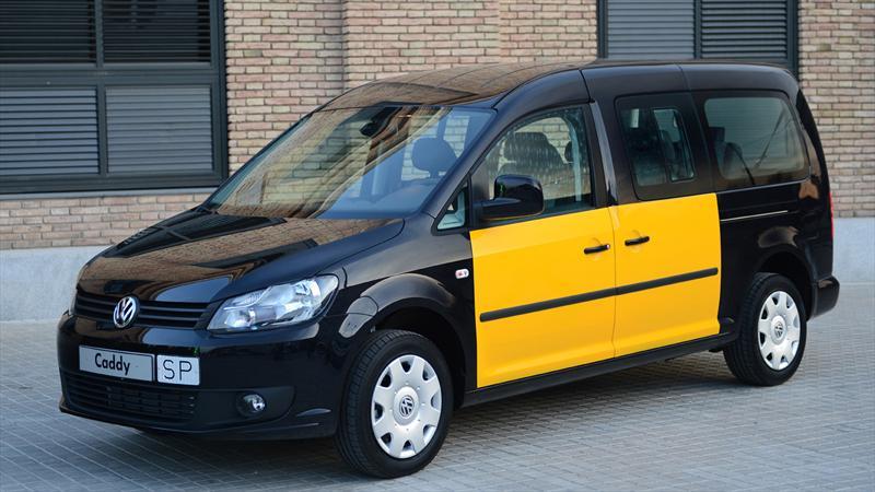 Volkswagen Caddy Maxi, el taxi de Barcelona