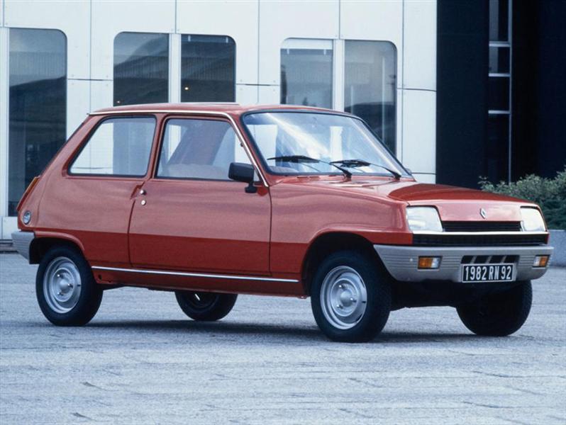 Los 5 mejores Renault, R5
