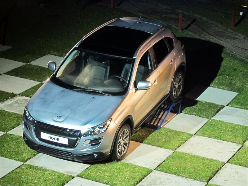 Peugeot 4008 ya está en Argentina