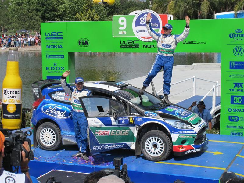 WRC Rally México 2012 Premiación Final