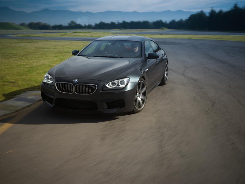 BMW M6 Gran Coupé en pista