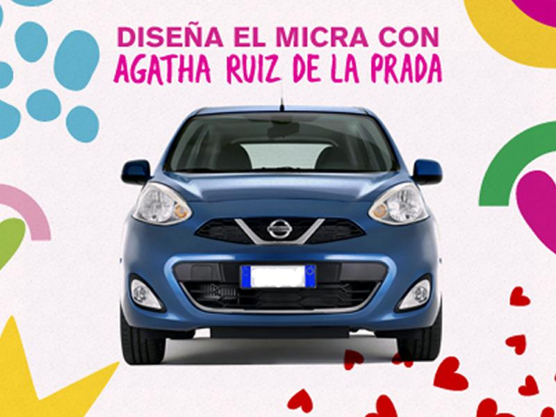 Nissan March 2014 by Ágatha Ruiz de la Prada
