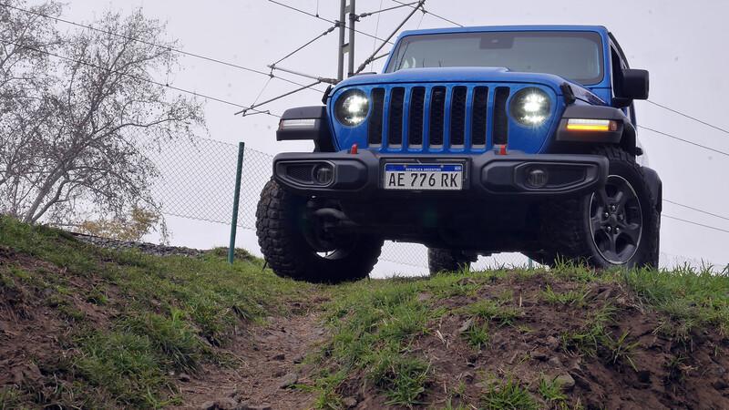 Test Jeep Gladiator