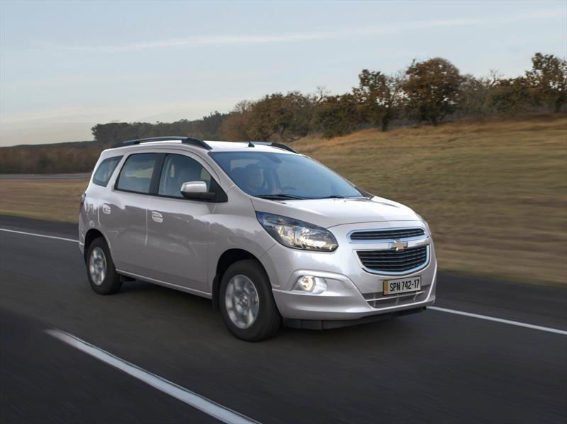 Chevrolet Spin 2017