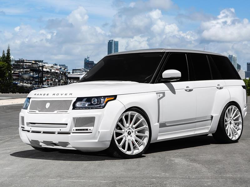 Range Rover SVR por MC Customs