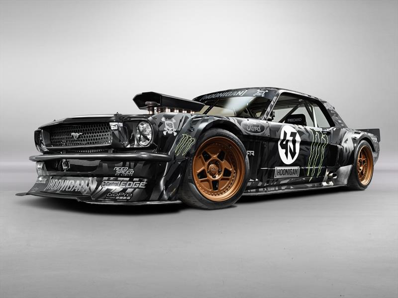 The Hoonicorn, el Ford Mustang 1965 de Ken Block