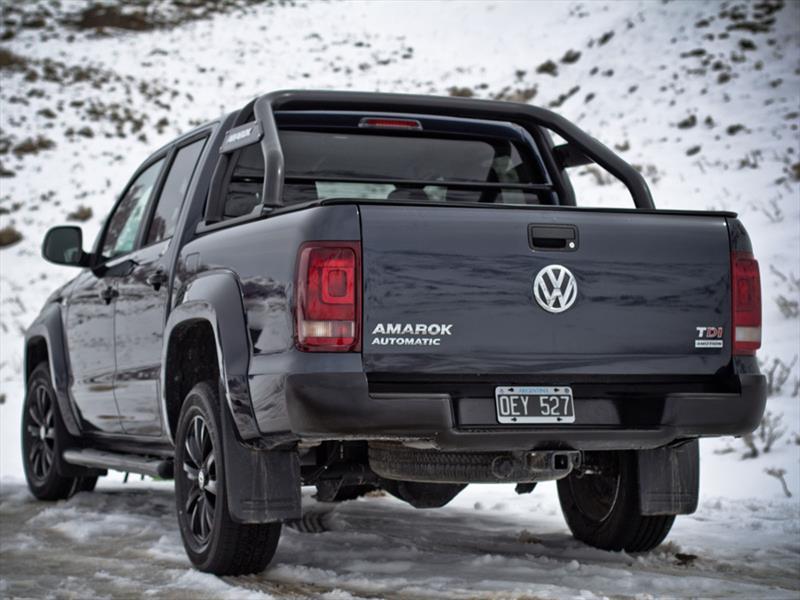 Volkswagen Amarok Dark Label en Argentina
