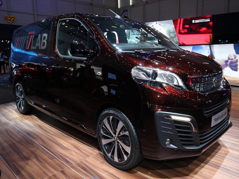 Peugeot Traveller i-Lab Concept