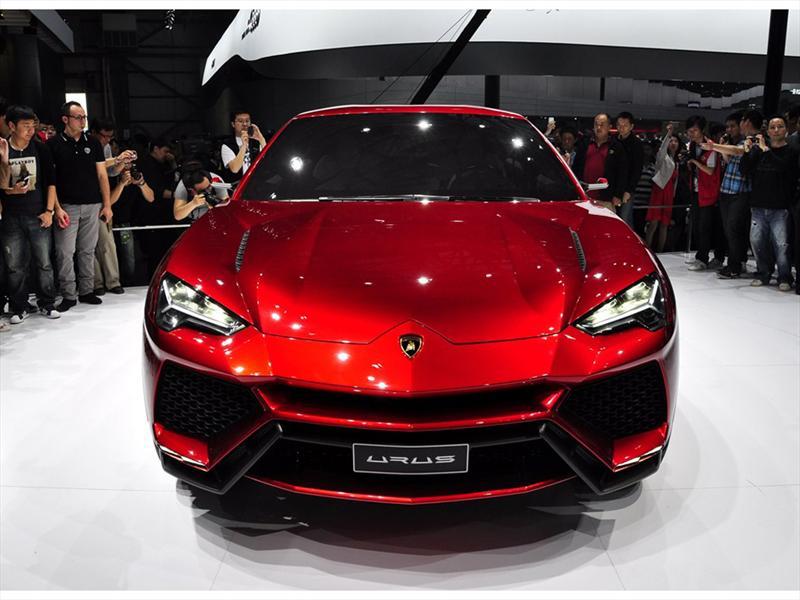 Lamborghini Urus en vivo en Beijing