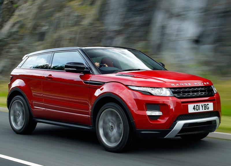 Top 10: Range Rover Evoque
