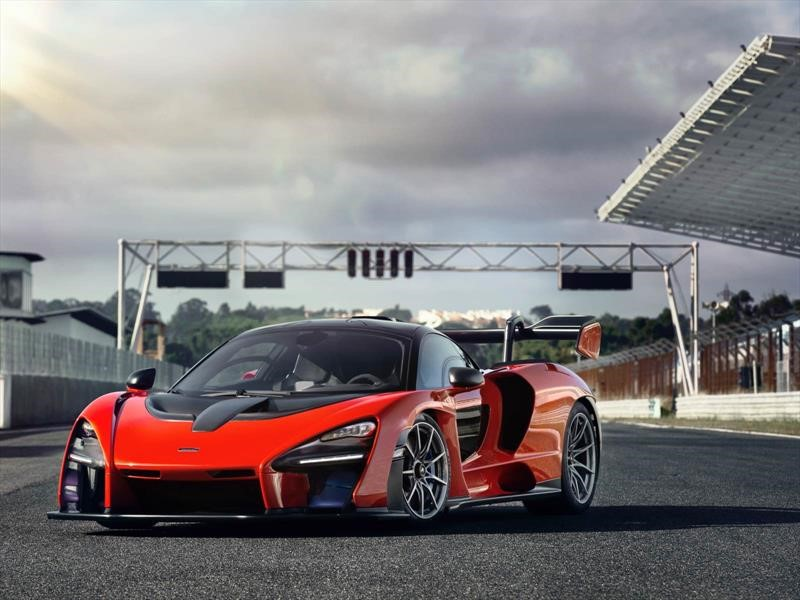 McLaren Senna en Estoril