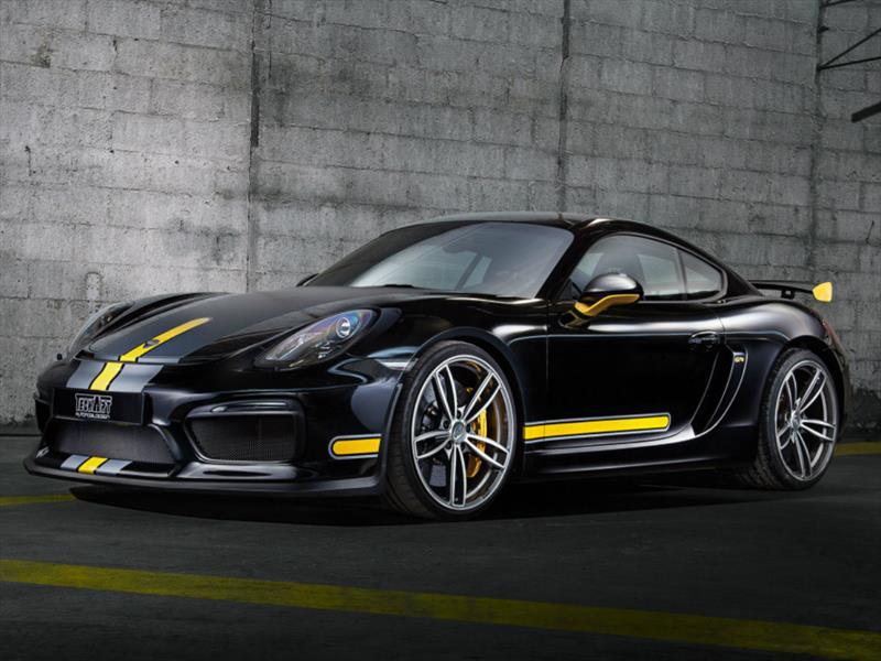 Porsche Cayman GT4 por TechArt