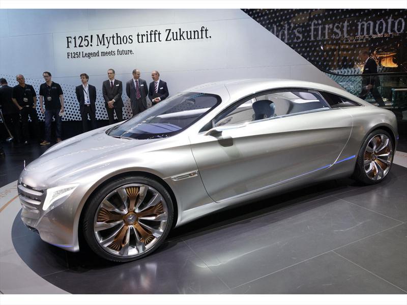 Mercedes Benz 125! concept en Frankfurt 2011