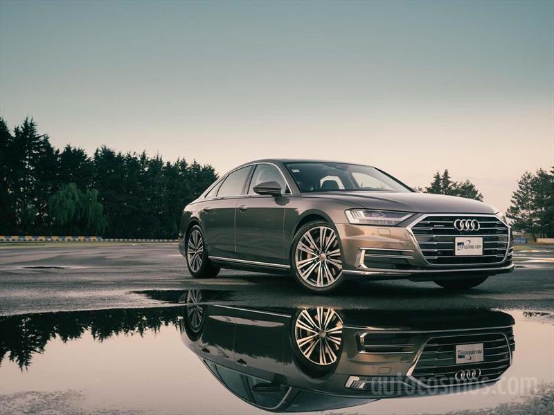 Audi A8 2019 a prueba