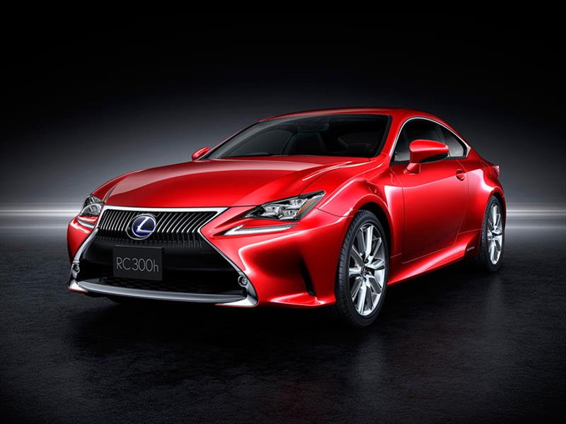 Lexus RC coupé 2015 debut