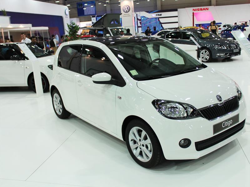 Skoda Citigo en el Salón del Automóvil