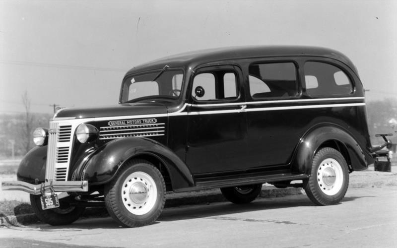 Chevrolet Suburban 2ª Generación 1937-1940