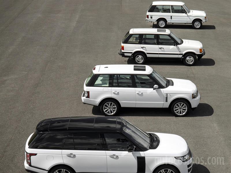 Range Rover 45 años
