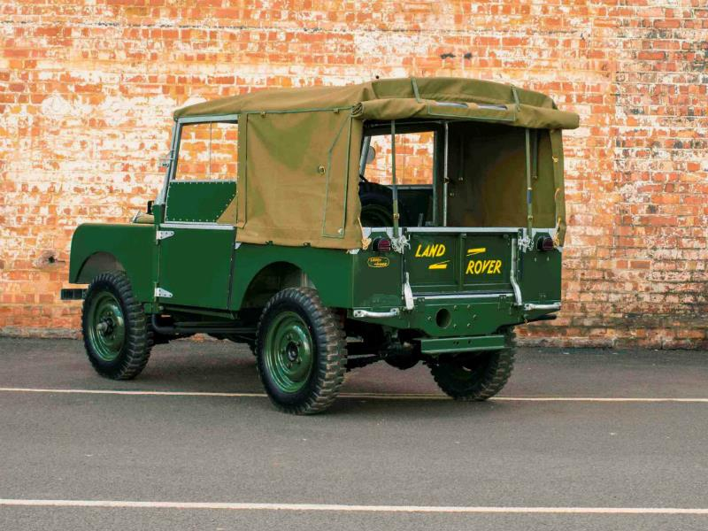 "Land Rover Serie I ""Reborn"""