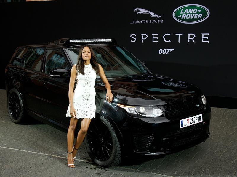 Los autos de Jaguar Land Rover en SPECTRE