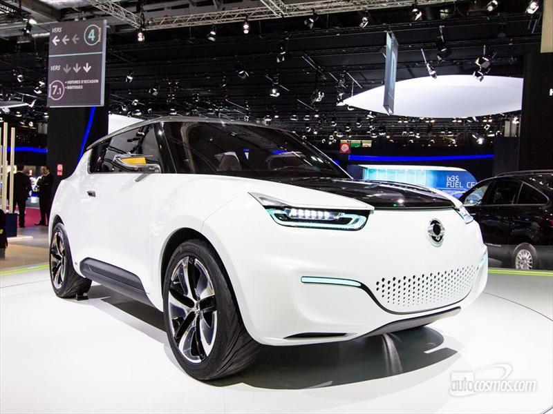 SsangYong e-XIV Crossover Concept