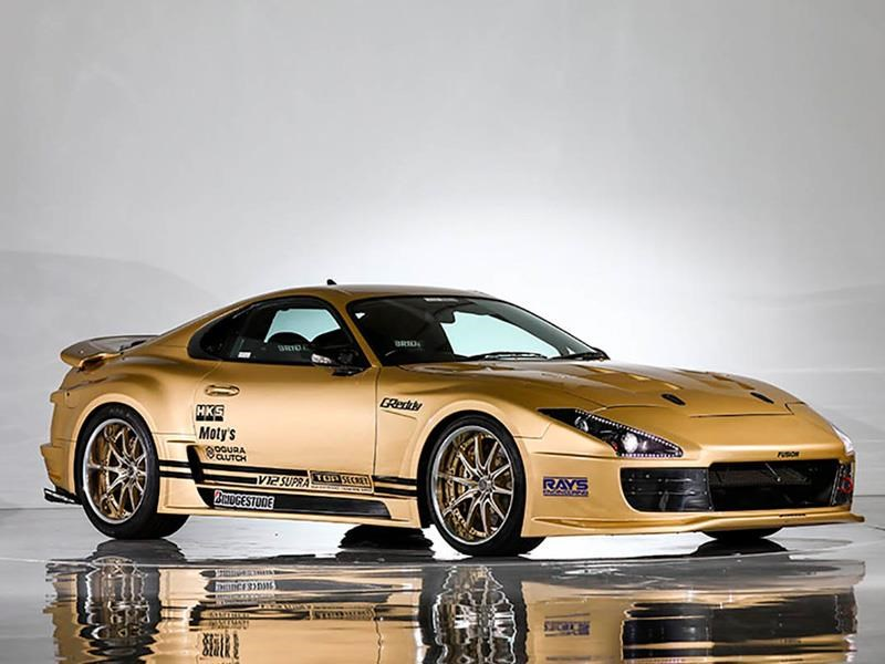 Toyota Supra V12 por Top Secret